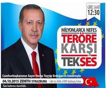 Cumhurbaşkanı Erdoğan 4 Ekimde Teröre Karşı Tek Ses mitingine katılacak 84